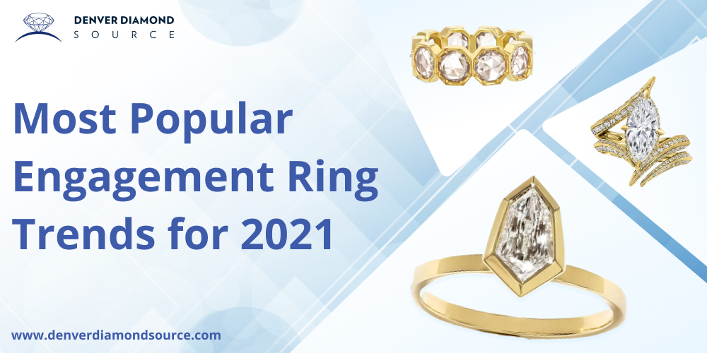 Most Popular Engagement Ring Trends for 2021