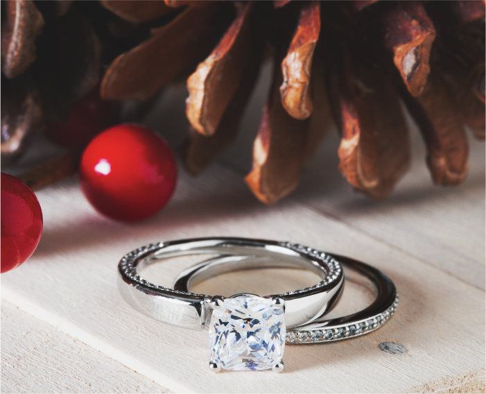 Engagement rings lone trees