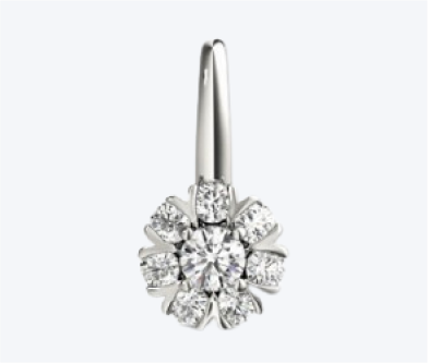 Make your loved one feel extra special with a diamond
